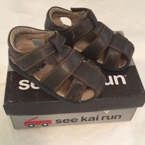See Kai Run boy sandals.